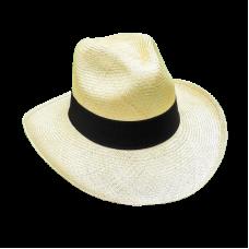 Extra fine Aguadeño hat monaco white