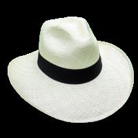 Aguadeno Hat Wide Brim White